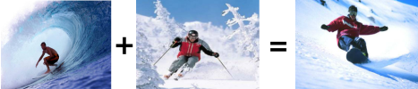 El snowboard se lo debemos a la hibridación entre el surf y el ski